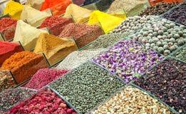 01埃及人伊斯坦布尔市场香料 免版税库存照片