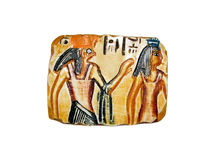 01埃及人纪念品 库存照片