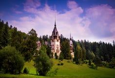 01城堡peles 库存照片