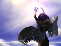 01天使 库存图片