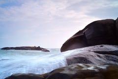 01岩石 免版税库存图片