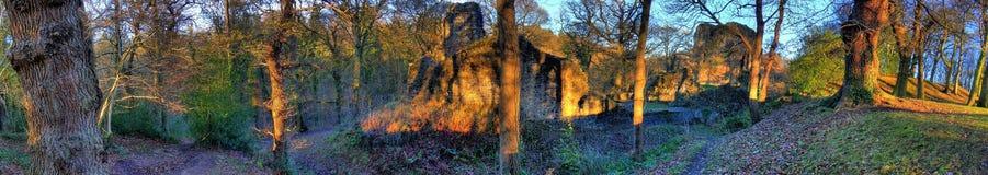 01座城堡ewloe 库存图片
