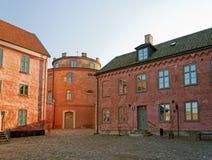01座城堡landskrona 图库摄影