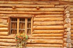 01木的房子 库存照片