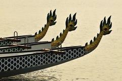 01条小船龙 免版税图库摄影