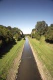 01条运河emscher开放废水 库存图片