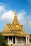 01柬埔寨宫殿 库存照片