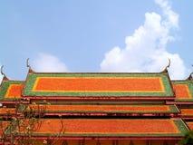 01泰国的屋顶 免版税库存照片