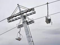 01滑雪吊车 免版税库存照片