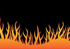 01火焰 库存例证
