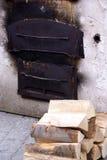 01烤箱 图库摄影