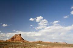 01片沙漠小山 免版税库存照片
