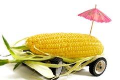 01玉米卡车 免版税库存照片