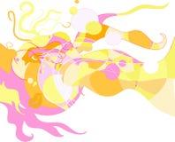 01现代抽象艺术品的幻想 图库摄影