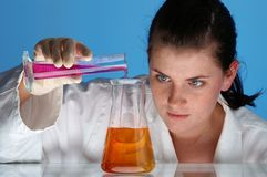 01种化学制品研究 库存图片