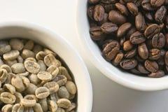 01粒豆咖啡 免版税库存照片