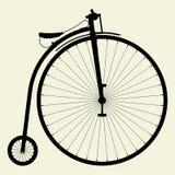 01辆自行车极少量便士向量 库存例证