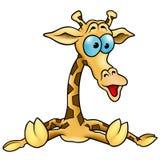 01长颈鹿 皇族释放例证