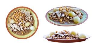 01阿拉伯饭食 免版税图库摄影