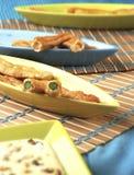 01面包蔬菜 库存图片
