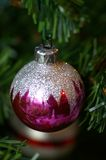01 świąt bauble Zdjęcie Royalty Free
