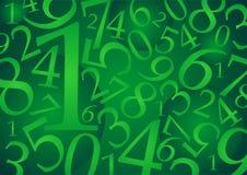 01 αριθμοί προτύπων Στοκ Εικόνα