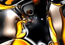 01 αφηρημένος κόκκινος διαστημικός κίτρινος διανυσματική απεικόνιση