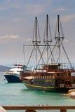 01 βάρκες Στοκ Εικόνες