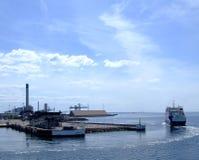 01 λιμάνι helsingborg Στοκ Εικόνα