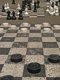 01 προμαχώνες des Γενεύη parc Στοκ Εικόνες