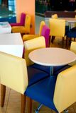01 σειρές καφέδων Στοκ Εικόνα