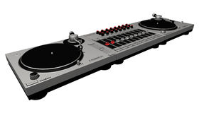 01 σύνολο του DJ Στοκ εικόνες με δικαίωμα ελεύθερης χρήσης