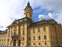 01 το cityhall Ουγγαρία Στοκ Εικόνες