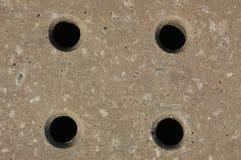 01 τρύπες Στοκ εικόνα με δικαίωμα ελεύθερης χρήσης