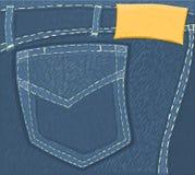 01 джинсы Стоковая Фотография RF