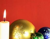 01 лет духа Рожденственской ночи новый Стоковое Изображение RF