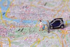 01 люд миниатюр Стоковое Изображение RF