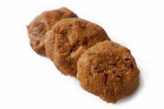 01 печенье шоколада обломоков Стоковые Фото