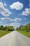 01 простирание дороги расстояния Стоковая Фотография RF