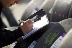 01 сброс s быстрого ханжа 500 апреля nascar Стоковая Фотография RF