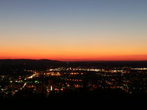 01 свет города Стоковое фото RF