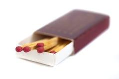 01 серия спички коробки Стоковое Изображение RF
