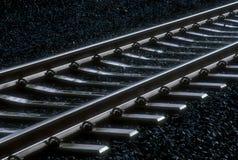 01 след железной дороги Стоковое Изображение