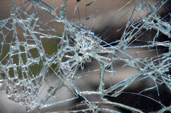01 сломленное стекло Стоковая Фотография RF