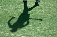 01 тень хоккея Стоковые Изображения