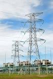 01 электрическая серия силы завода Стоковое фото RF