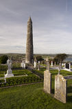 01.09.2013 - Ardmore Round Tower and Cathedral. Stock Images