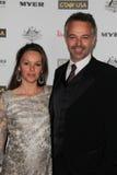 01 (1) 22 2011 Australia czarny ca Cameron daddo dzień g galowych Hollywood palladu krawata usa tydzień Zdjęcia Royalty Free
