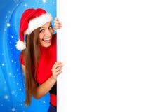 01 2 missis圣诞老人 免版税库存图片
