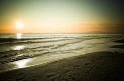 01 24 захода солнца Стоковые Фотографии RF